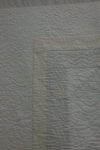 Detail of the border designs(reverse) on North for the Summer